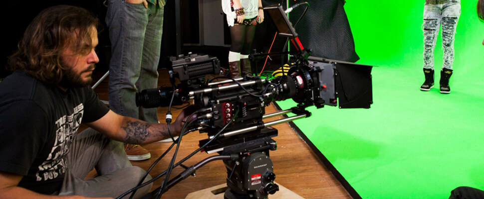 Video Production Equipment and Crew