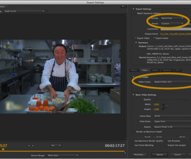 Video Production How To: Exporting Video